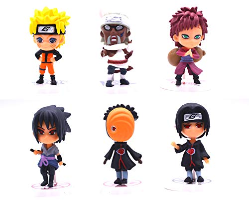 Anime Domain 6 Naruto Figur Set