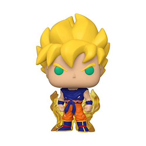 Funko Pop! Animation: Dragonball Z - Super Saiyan Goku (First Appearance), Multicolor (48600), 3.75 inches