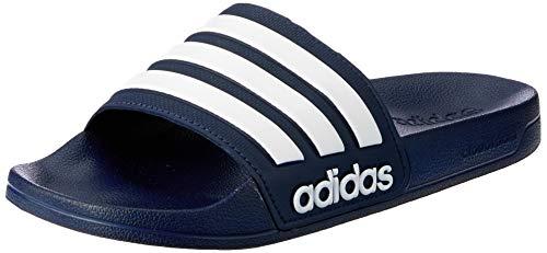 adidas Herren Cf Adilette Dusch-& Badeschuhe, Blau (Collegiate Navy/footwear White/collegiate Navy 0), 43 EU