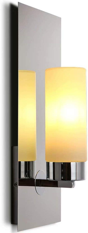 LED kerzenhalter wandleuchte metall schlafzimmer nachttischlampe innen wohnzimmer wandleuchte kreative flur wand beleuchtung lampe(Gelbe Lichtquelle)