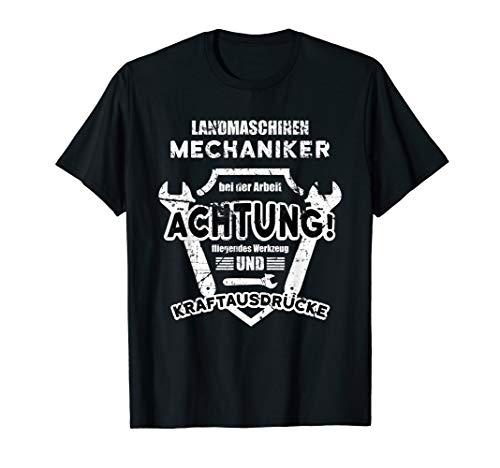 Landmaschinen Mechaniker   Werkzeug & Kraftausdrücke   Bauer T-Shirt