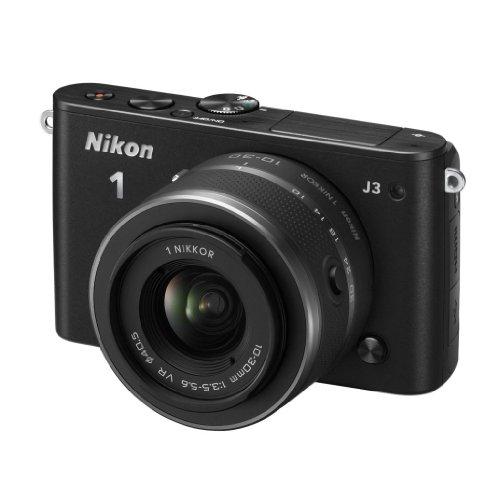 Nikon 1 J3 + NIKKOR VR 10-30mm MILC 14.2MP CMOS 4608 x 3072Pixeles Negro - Cámara Digital...