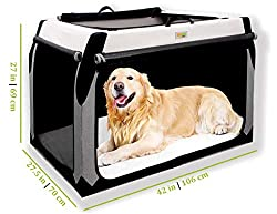 DogGoods Foldable Travel Kennel and Soft Dog Crate