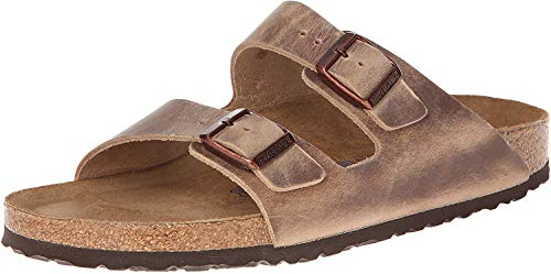 Birkenstock Unisex Arizona Tobacco Oiled Leather Sandals - 36 N EU / 5-5.5 2A(N) US