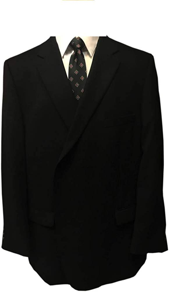 Petrocelli Portly Executive Long Cashmere Wool Blend Big and Tall Blazer