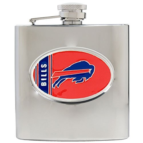 Buffalo Bills NFL 2pc Rocks Glass Set - Helmet logo