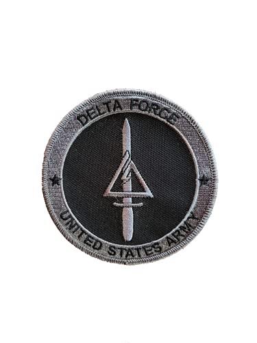 コール オブ デューティ モダン・ウォーフェア3アメリカ軍・アメリカ陸軍第1特殊部隊デルタ作戦分遣隊/デルタフォース(Delta Force)戦争アニメエアガン軍のワッペン