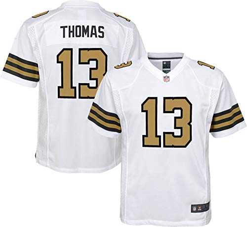 NFL Youth 8-20 Color Rush Alternate Color Game Day Player Jersey (Michael Thomas New Orleans Saints White Color Rush, 18-20)