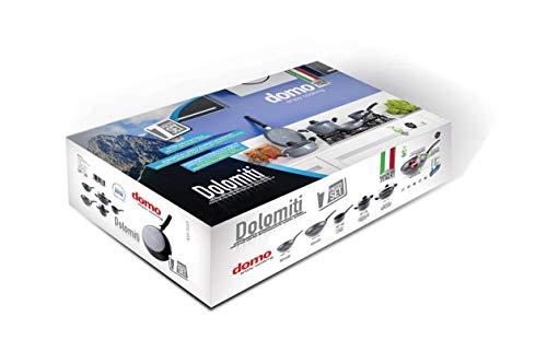 Domo Enjoy Cooking D97ST0700 Set padelle, Alluminio