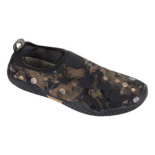 Fashy 75832545Aqua–Zapatillas Ancones, Color marrón