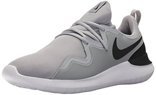 Nike Men's Tessen Running Shoe, Wolf Grey/Black - White, 12 Regular US
