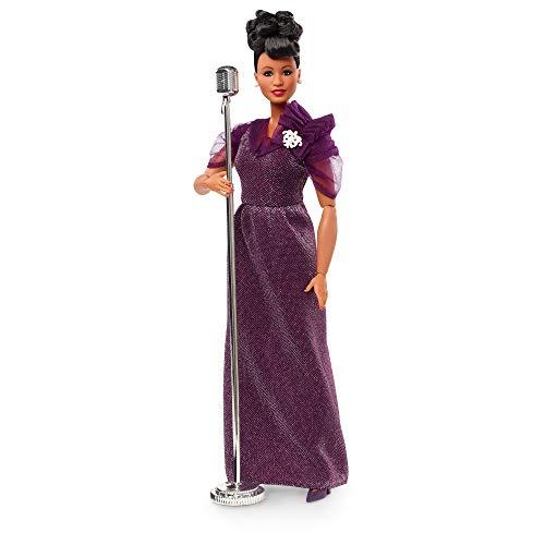 Barbie- Inspiring Women, Ella Fitzgerald Bambola da Collezione, Giocattolo per Bambini 6+ Anni, GHT86