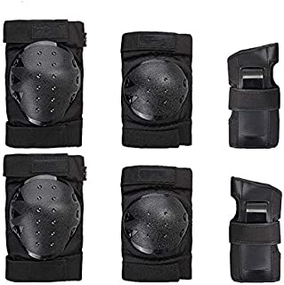 Bandage Kneepad Leiwenkai Child Protective Equipment for Children Full Set of Knee Pads Wrist Knee Balanced Car Kit Bike Helmet