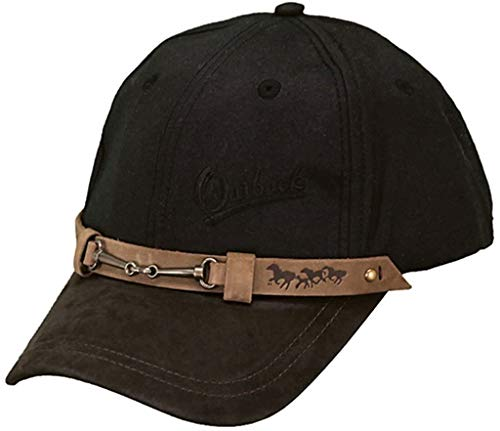 Outback Trading Baseball Cap, Black, One Size