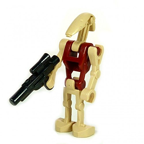 LEGO Star Wars - Minifigur Security Battle Droid beige dunkelrot