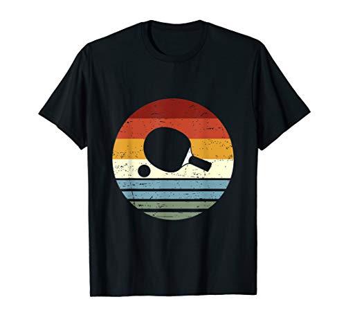 Cooles Vintage Retro Tischtennis für Männer & Frauen T-Shirt