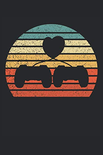 I love gaming: Cahier ligné, carnet de notes, agenda, ToDo, cahier d'exercices,...