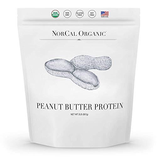 Norcal Organic Peanut Butter Powder, 2lb   11g Protein, 100 Calories, 41 Servings   Vegan, Natural, Organic, Low Calorie, Source Organic