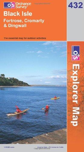 OS Explorer map 432 : Black Isle