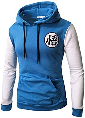 DYWLQ Sudadera con Capucha de Dragon Ball para niños, Camisetas Personalizadas, Blusas acogedoras, Anime sweater-03_XL