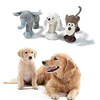 面白い犬のぬいぐるみ小型犬のおもちゃ子犬のおもちゃ犬のきしむおもちゃ犬の噛むおもちゃ子犬の歯のクリーニングのおもちゃ退屈のための犬のおもちゃ