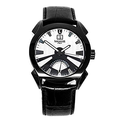 Lancaster Italia Orologio al Quarzo Lanza Big Date Collection PVD nero OLA0346L/BK/NR/NR
