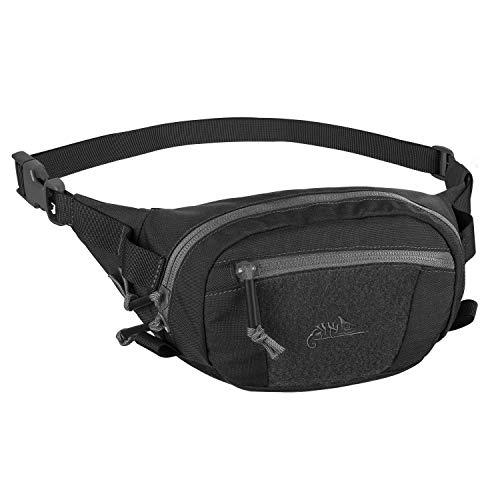 Helikon-Tex Possum Waist Pack Gürteltasche - Cordura,Schwarz / Shadow Grau,Einheitsgröße