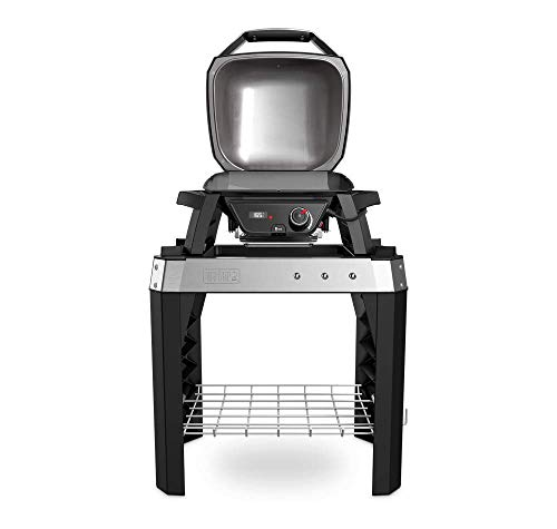 Weber Pulse 1000 Electric BBQ, Grill with Stand, Black