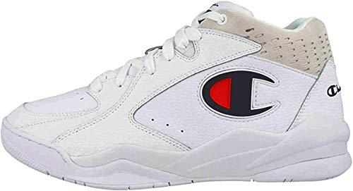 Champion Sneakers Zone Mid Bianco S20878-S19-WW001 (45 - Bianco)