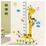 Guooe Stickers Toise Murale Enfant, Hauteur Règle Décoration De La Maison...