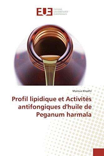 Profil lipidique et Activités antifongiques d'huile de Peganum harmala (Omn.Univ.Europ.)