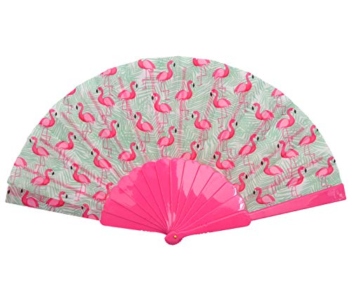 Abanico de bolsillos, fiesta, compartimentos de papel, flamenco, elegante, multicolor, plegable, accesorio...