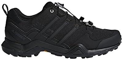 adidas Outdoor Men's Terrex Swift R2 Hiking Shoe, Black/Black/Black, 12