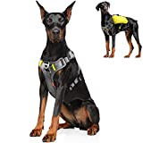 Fida Dog Harness, Multi-Functional No-Pull Pet Vest Harness with Saddle Bags...