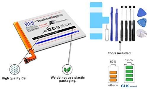 GLK-Technologies Original MEGA Akku kompatibel mit Wiko Getaway TLE14J14 TLE14I14, inkl Werkzeug Set Tool