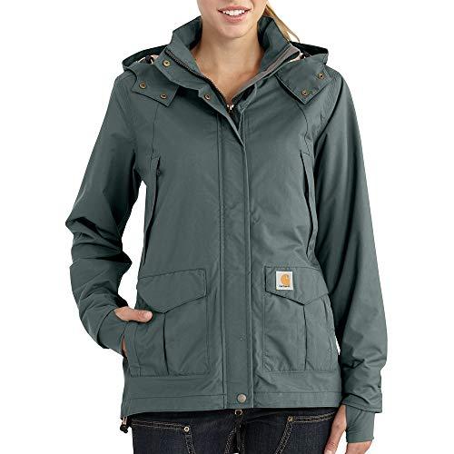 Carhartt Women's Shoreline Jacket (Regular and Plus Sizes), Balsam Green, 3X