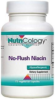 NutriCology No-Flush Niacin 75 Vegetarian Capsules