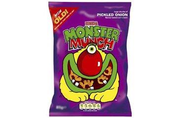 Monster Munch Mega Eingelegte Zwiebel - 30 packungen pro Box