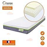 ONIROS - Matelas Bébé Premium - Modèle ORIGINAL - 60 x 120 x 13 cm - Confort Exceptionnel - 100% Latex - Ventilation Optimale -...