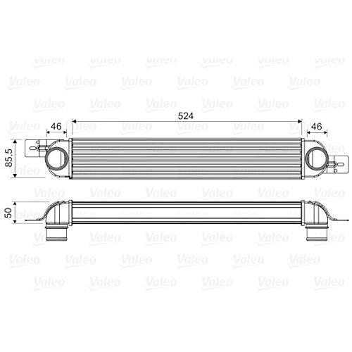 Valeo 818661 - Refrigerador de aire de carga
