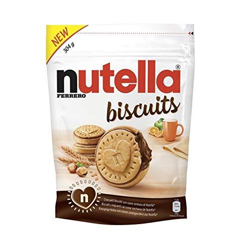 Nutella - Kekse 304G - Packung mit 4