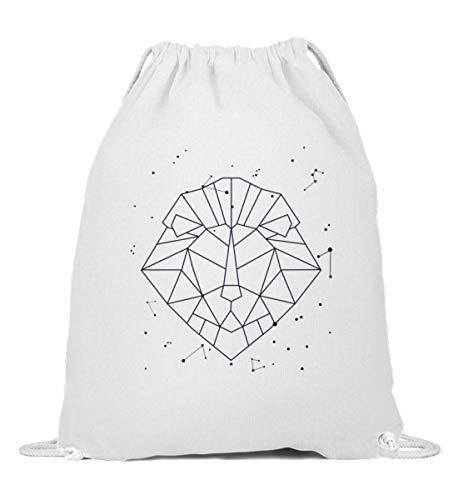 Sternbild Löwe Sternzeichen Turnbeutel   Horoskop Sterne Galaxie Gymsac