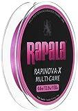Rapala(ラパラ) PEライン ラピノヴァX マルチゲーム 150m 0.6号 13.9lb 4本編み ピンク RLX150M06PK