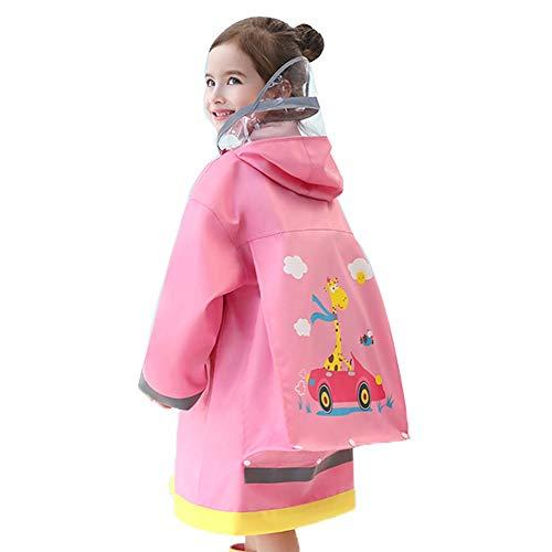 Veste Enfants pluie - Raincoat for adultes Enfants 95-150 adultes Veste de pluie légère Dinosaur Lion en forme de vêtements de pluie for les garçons et les filles Poncho ( Color : #03 , Size : S )