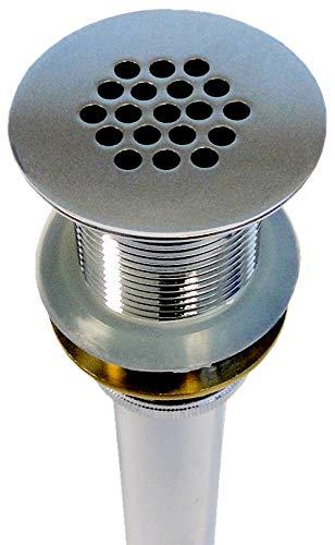 Ablaufgarnitur mit Sieb - ohne Pop-up-Funktion - passend für BERNSTEIN Waschbecken (TWG06, TWG07, TWG08, TWG16, TWG21, TWZ29, PB2089, PB2078, PB2080, PB2155, PB2088)