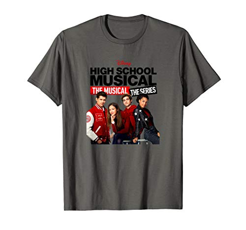 Disney High School Musical The Musical The Series Cast T-Shirt