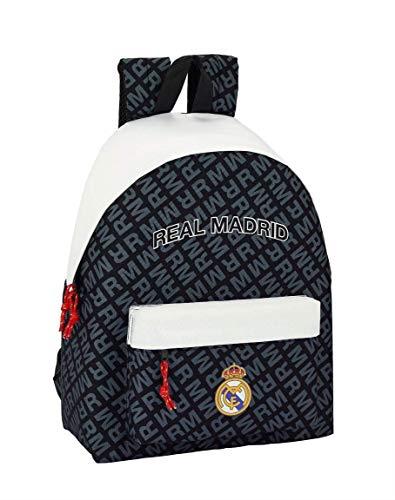 Safta Real Madrid Zaino Daypack per la scuola, 42 cm, Colori (Multicolore) - 072577