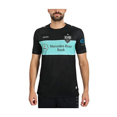 JAKO Kinder VfB Stuttgart Away Tw Trikot, schwarz/Mint, 152