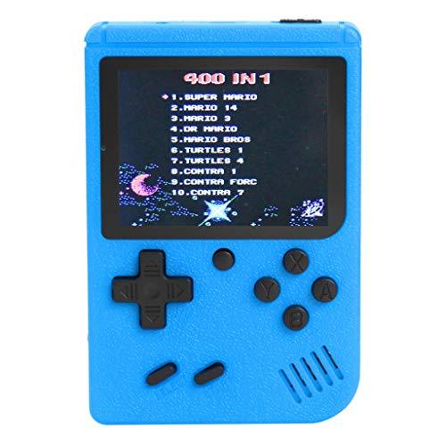 William-Lee 3 inch handheld-retro-FC-spelconsole, 400 games, ingebouwde 8-bits gamespeler, TFT-kleurenbeeldscherm met digitale achtergrondverlichting voor meerdere platforms