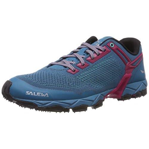SALEWA WS Lite Train Knitted, Scarpe da Trail Running Donna, Malta Vivacious, 37 EU